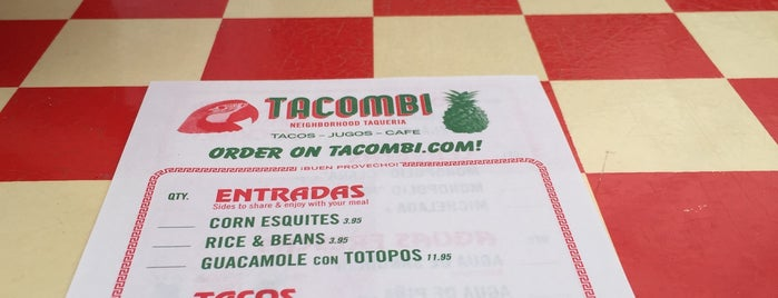 Tacombi is one of Try.