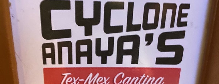 Cyclone Anaya's Tex-Mex Cantina is one of Haven't tried austin.