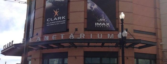Clark Planetarium & IMAX Theater is one of Planetarium Pilgrimages.