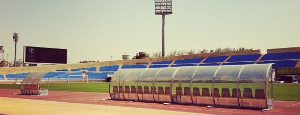 Prince Abdullah Al Faisal Stadium is one of Bayanaさんのお気に入りスポット.