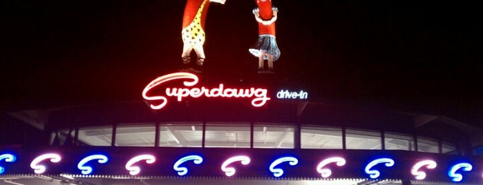 Superdawg Drive-In is one of Eat.