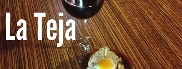 La Teja is one of La Manga, larga y húmeda!.