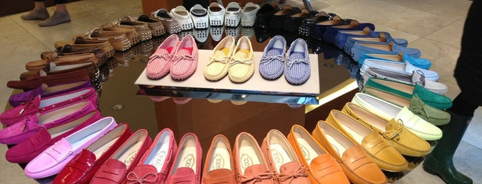 TOD'S is one of Dress to Impress.
