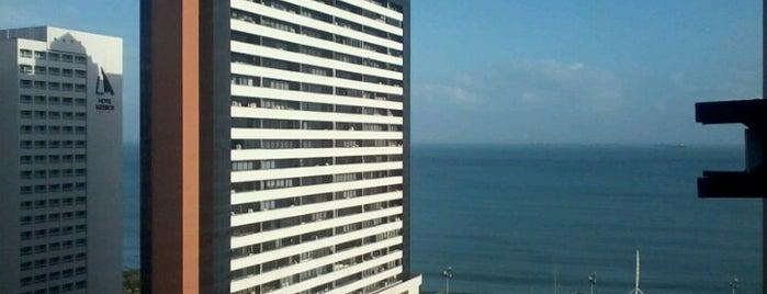 Praia Mansa Suite Hotel Fortaleza is one of Posti che sono piaciuti a Patty.