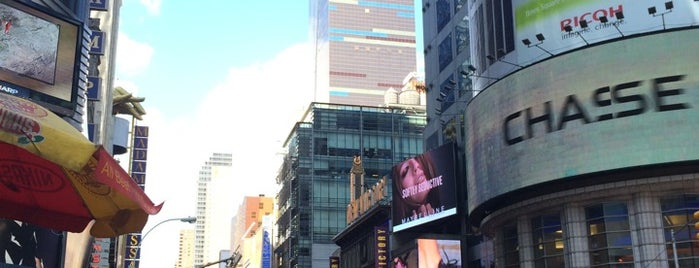 Times Square is one of New York must sees.