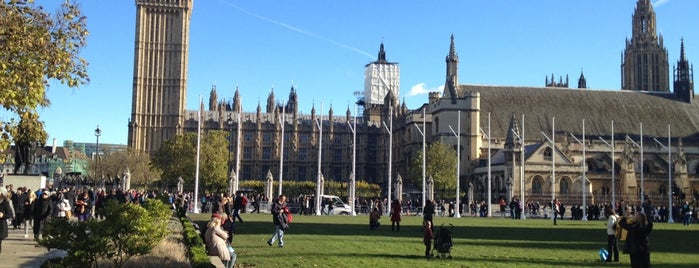 Parliament Square is one of London, UK.