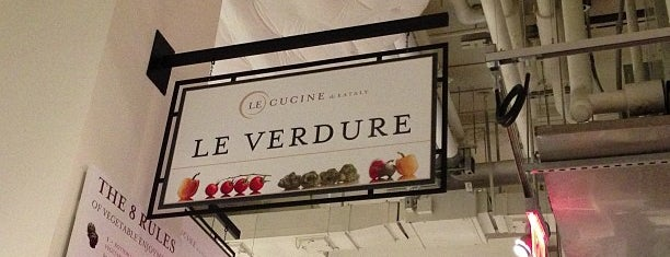 Le Verdure @ Eataly is one of 2013 Best Vegetarian Restaurants NYC.