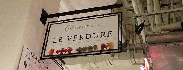 Le Verdure @ Eataly is one of 2013 Best Vegetarian Restaurants NYC.