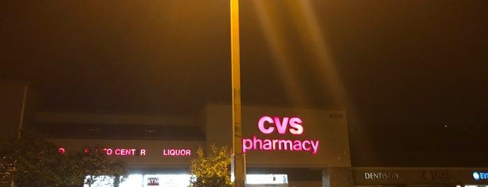CVS pharmacy is one of Joey 님이 좋아한 장소.