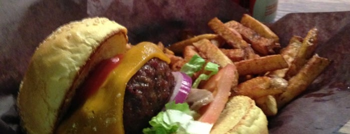 Woody's Burgers bar and grill is one of Best of BlogTO Food Pt. 1.