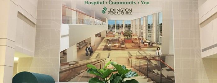 Lexington Medical Center Main Campus is one of Yunus'un Beğendiği Mekanlar.