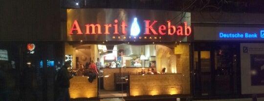 Amrit Kebab is one of Tempat yang Disimpan Andrej.