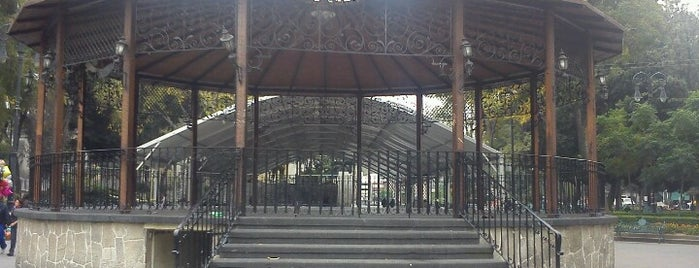 El Kiosko de Coyoacán is one of Mayte : понравившиеся места.