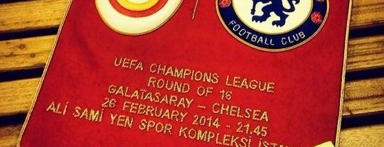 Galatasaraylilar Dernegi is one of Orte, die Erman gefallen.
