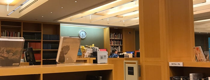 The Nolen Library is one of Fav NYC Cultural Spots.