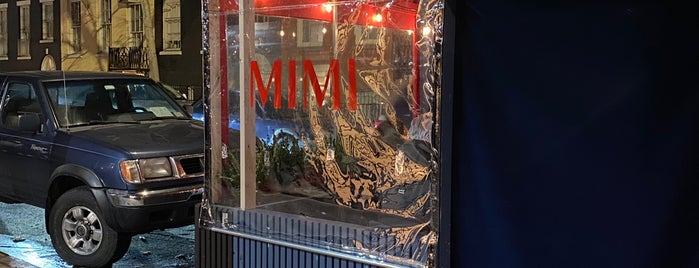 MIMI is one of Good bar food (NYC).