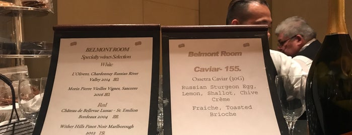 Belmont Room at The Metropolitan Opera House is one of NYC.