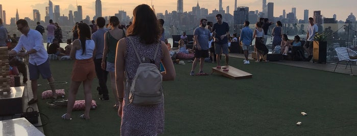 The Turf Club At Westlight is one of NYC Rooftop Bars.
