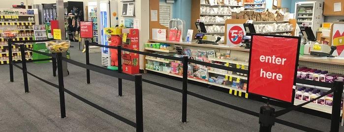 CVS pharmacy is one of Late night/24hr places.