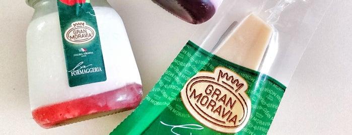 La Formaggeria Gran Moravia is one of Julia'nın Beğendiği Mekanlar.