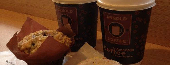 Arnold Coffee is one of MI Colazione, breakfast, petit déjeuner, frühstück.