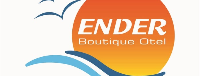 Ender Boutique Otel is one of Orte, die Dilek gefallen.