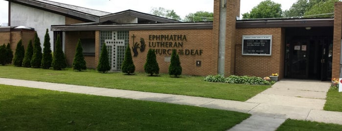 Ephphatha Lutheran Church is one of Glenda's Liked Places.
