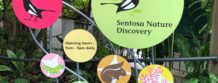 Sentosa Island Nature Walk is one of Сентоза.