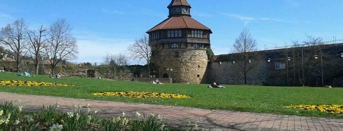 Esslinger Burg is one of Germany.