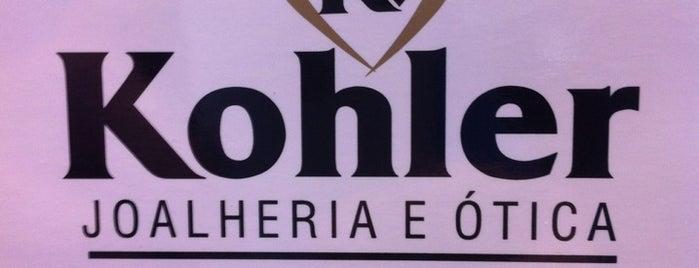 Kohler Joalheiros is one of Orte, die Luis Gustavo gefallen.