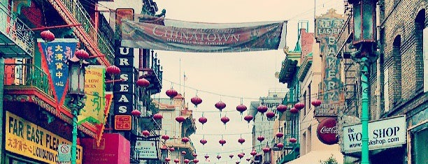 Chinatown is one of San Francisco SFO.
