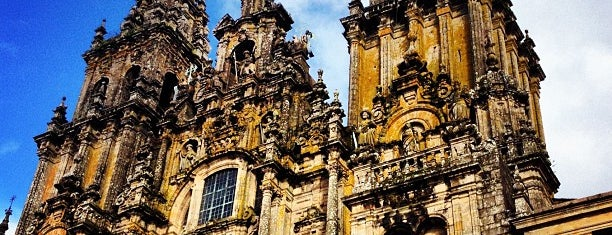 Catedral de Santiago de Compostela is one of Francisco'nun Beğendiği Mekanlar.