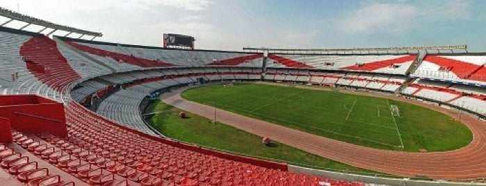 "Estadio Antonio Vespucio Liberti ""Monumental"" (Club Atlético River Plate) is one of Mis Lugares (Buenos Aires)."