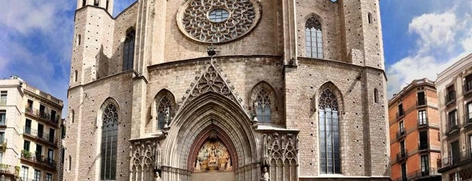 Basílica de Santa María del Mar is one of Places to visit in Barcelona.