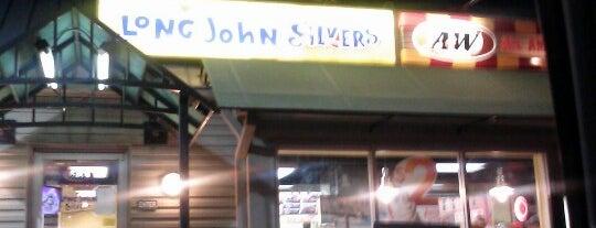 Long John Silver's/A&W is one of Dustin Todd'un Beğendiği Mekanlar.
