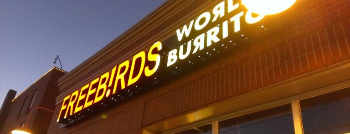Freebirds World Burrito is one of JULIEさんの保存済みスポット.