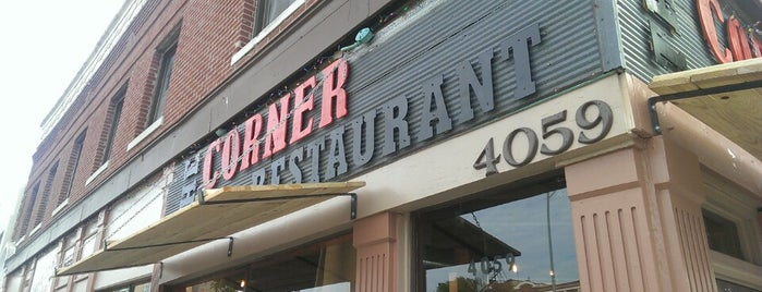 The Corner Restaurant is one of Brunching in KC.