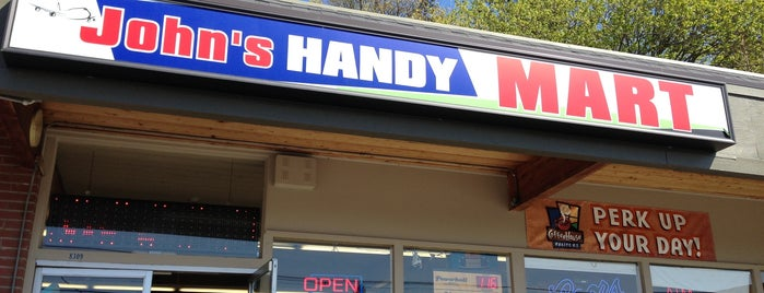 John's Handy Mart is one of Consta 님이 좋아한 장소.