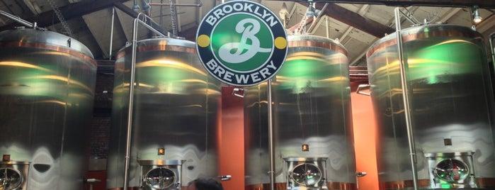Brooklyn Brewery is one of New York nightlife.