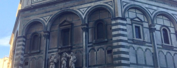 Battistero di San Giovanni is one of FLORENCE AND THE PLACES OF FAITH.
