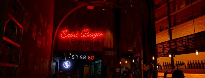 Saint Burger is one of Mi Burgermap.