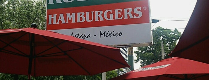 Rubens Hamburgers is one of vamos a....