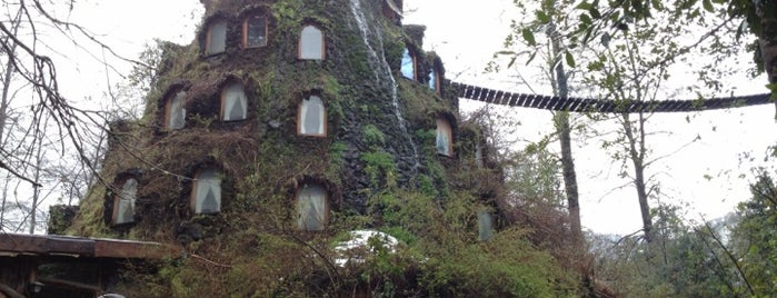 Hotel Montaña Magica is one of South America.