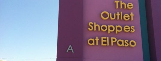 The Outlet Shoppes at El Paso is one of Roadtrip USA.