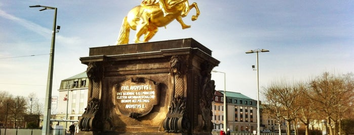 Goldener Reiter is one of Sehenswürdigkeiten.