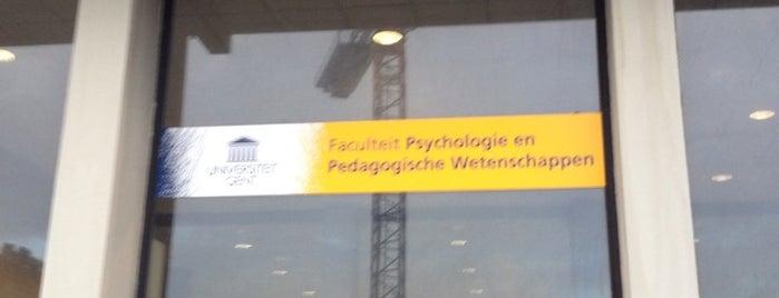 Faculteit Psychologie en Pedagogische Wetenschappen (FPPW) is one of UGent.
