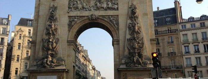 Porte Saint-Denis is one of Paris.