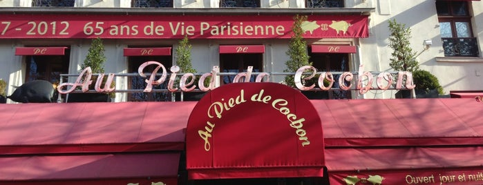 Au Pied de Cochon is one of Paris Things To Eat.