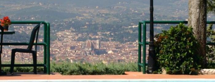 Camping Village Panoramico Fiesole is one of Via degli Dei.
