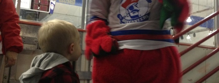 Buccaneer Arena is one of Drew's favorites.